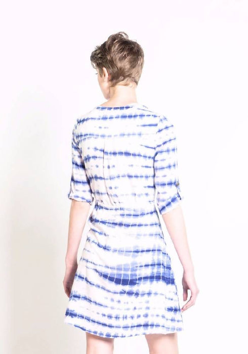 Shibori Tunic Dress