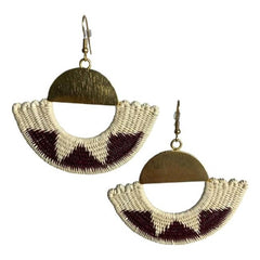 Sandra Woven Earrings