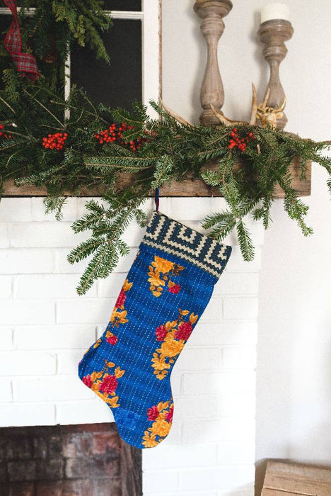Vintage Cotton Stocking