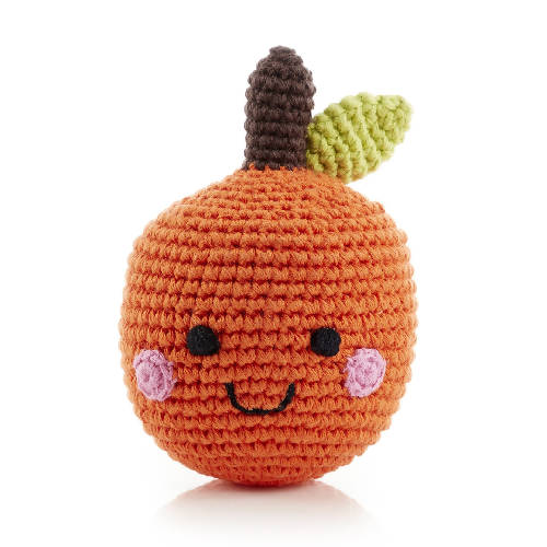Friendly Fruit Rattle Orange