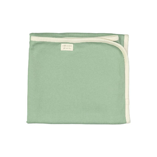 Organic Cuddle Blanket Earth Green