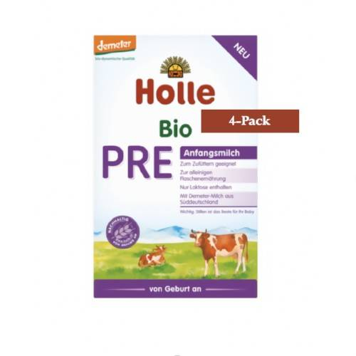4-Pack Holle Stage PRE Organic (Bio) Infant Milk Formula (400g) $23.75 EA