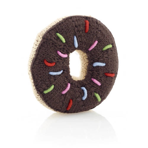 Donut Rattle Chocolate