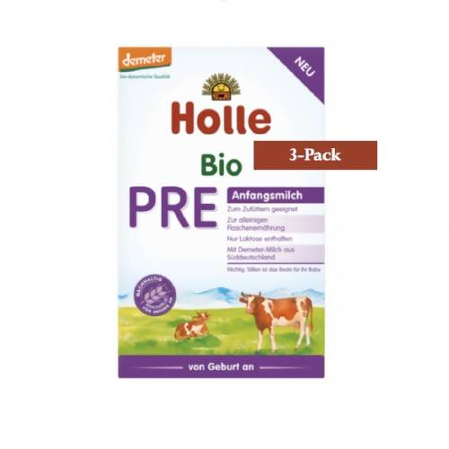 3-Pack Holle Stage PRE Organic (Bio) Infant Milk Formula (400g) $26.66 EA