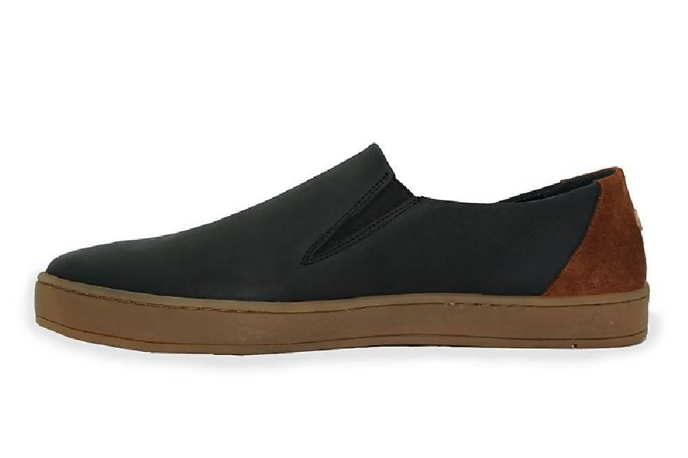 Men's Upcycled Leather Slip On: Reprise