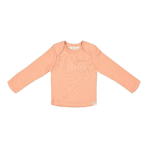 Long Sleeve Tee Shirt (Dusty Coral Print)