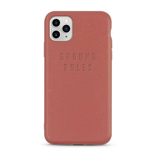 iPhone Case, Red, Ground Rules