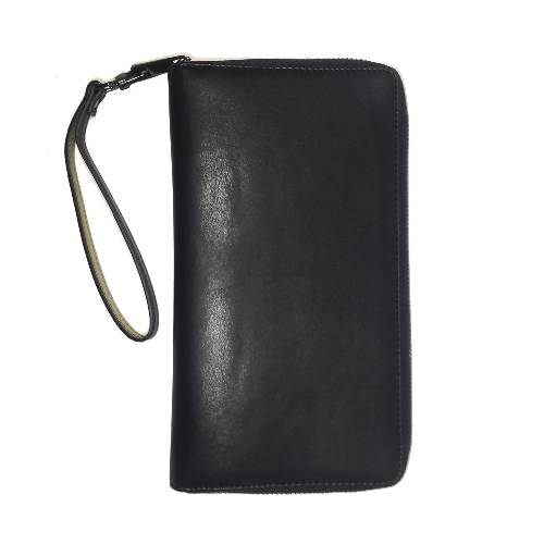 Fernweh - Black Vegan Leather Travel Wallet
