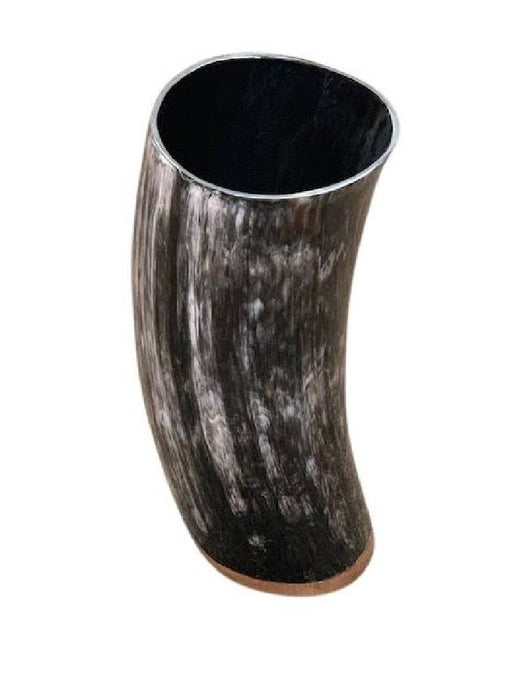 Horn Vases w/ Wooden Water Base