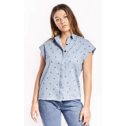 Baby Cacti Chambray Blouse