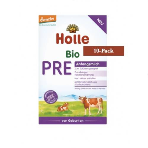 10-Pack Holle Stage PRE Organic (Bio) Infant Milk Formula (400g) $21.99 EA