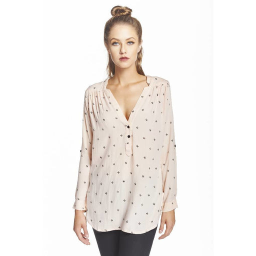 Baby Cacti Tunic in Blush & Black