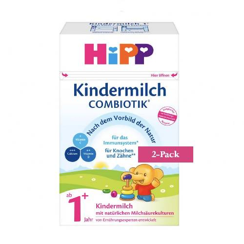 2-Pack HiPP Stage 1+ Organic Combiotik Toddler Milk (600g) $39.99 EA