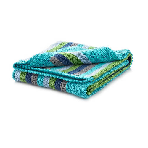 Blue Stripey Blanket