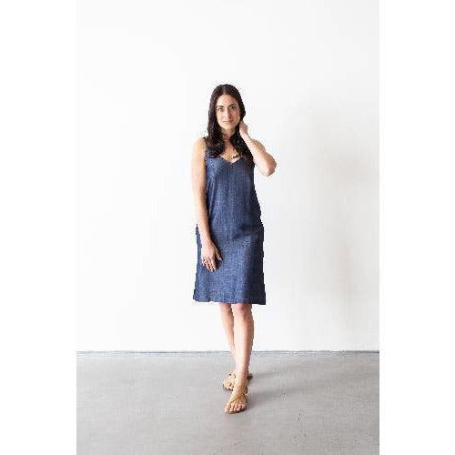 Tencel Market Slip Dress