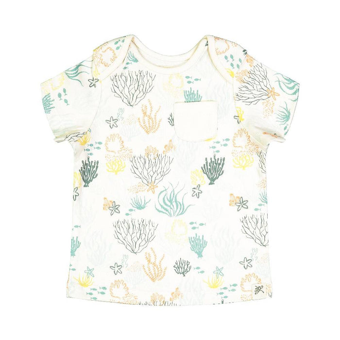 Short Sleeve Tee Shirt (Lentil Print)