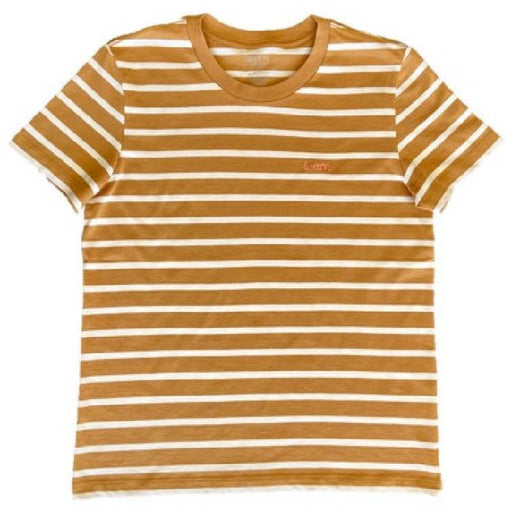 The Olen Stripe Tee (Adult), Fawn
