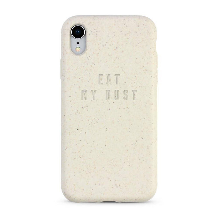 iPhone Case, White, Eat My Dust
