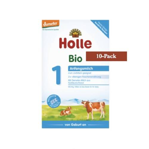 10-Pack Holle Stage 1 Organic (Bio) Infant Milk Formula (400g) $19.99 EA