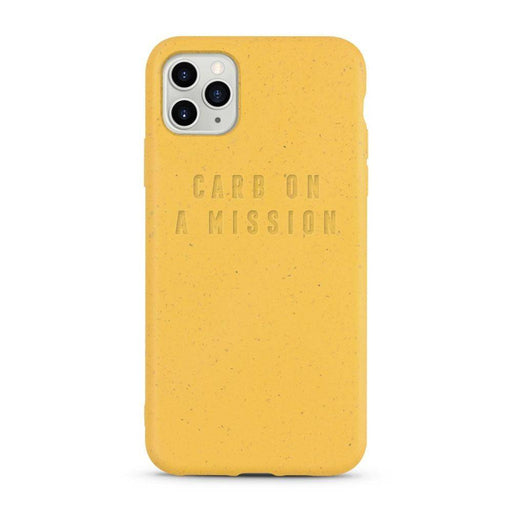 iPhone Case, Yellow, Carb on a Mission