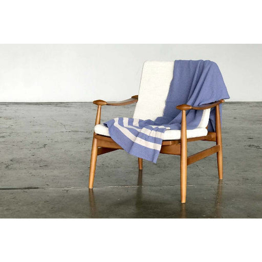 Cumberland Blue Throw Blanket