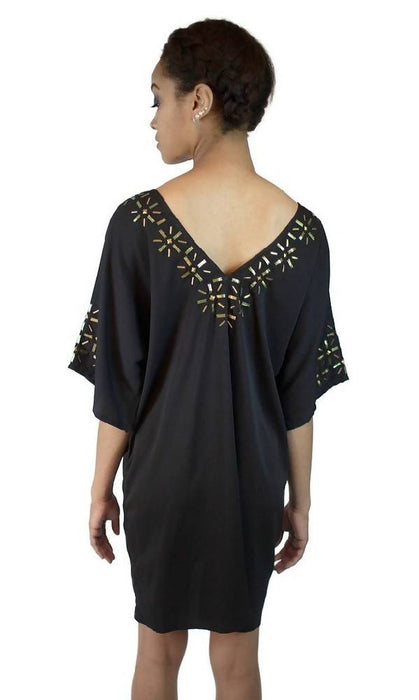 Beaded Starburst Caftan