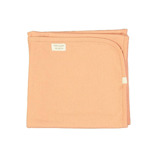 Organic Cuddle Blanket Dusty Coral