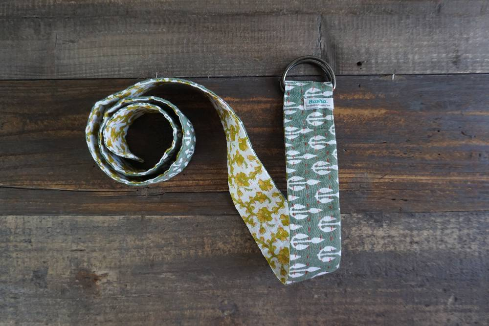 Kantha Belt with Metal Ring