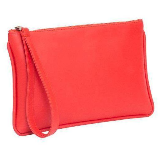 Zipper Pouch Clutch • Rouge