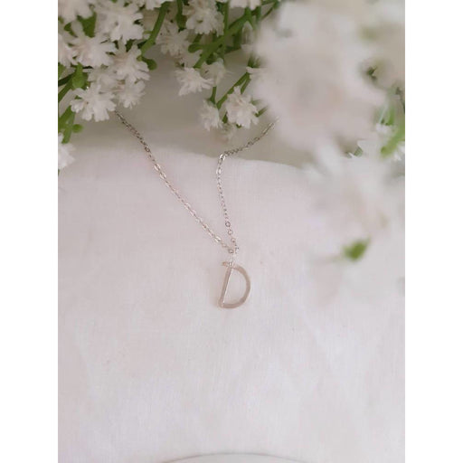 ECO - Letter Necklace