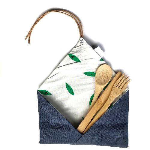 Reusable Cutlery Set | Organic, Reusable, Biodegradable