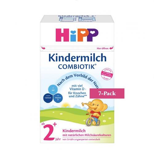 7-Pack HiPP Stage 2+ Organic Combiotik Toddler Milk (600g) $28.58 EA