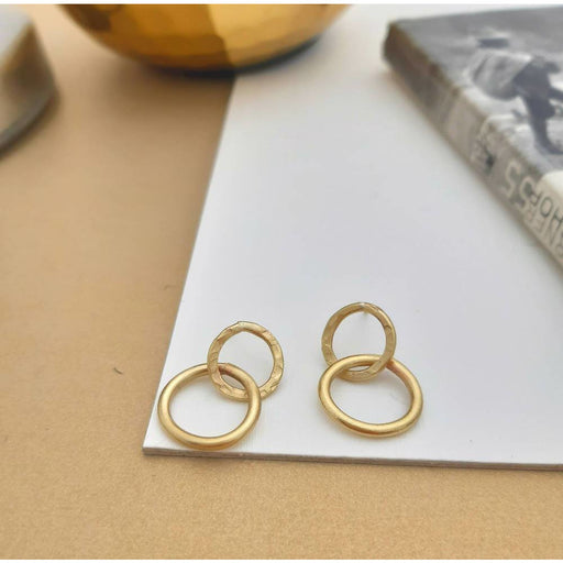 Karma - Unity Interlocking Circle Drop Earrings