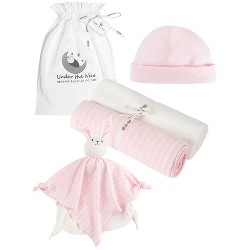 Stripe Essentials Gift Bag Set - Pink