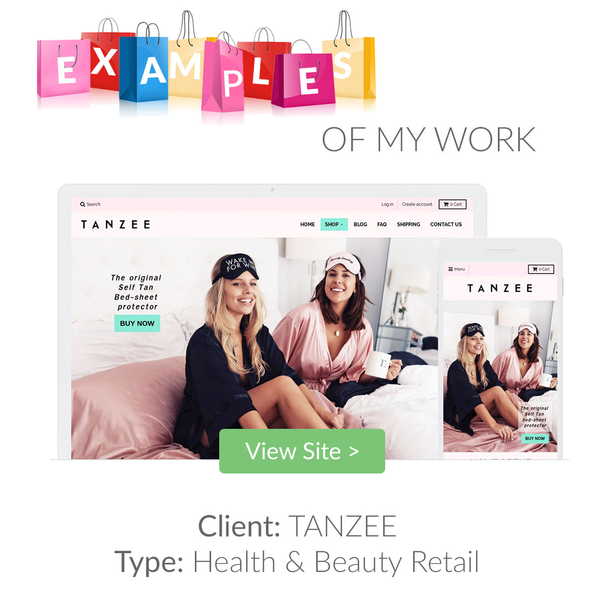 Examples of my eCommerce Website Designs 2 | The Shopify Expert