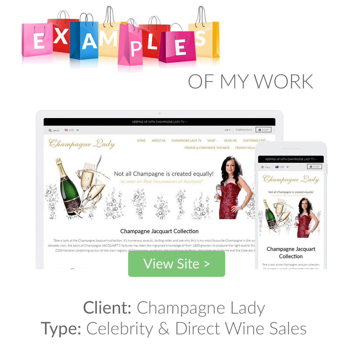 Examples of my eCommerce Website Designs 5 | The Shopify Expert