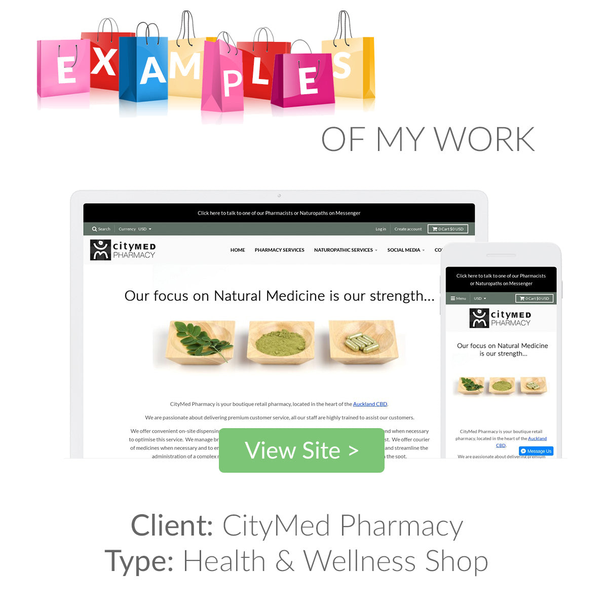 Examples of my eCommerce Website Designs 6 | The Shopify Expert