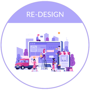 Redesign Package - E-Commerce Re-design Package
