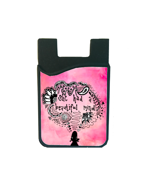 """She Had A Beautiful Mind"" Card Caddy"