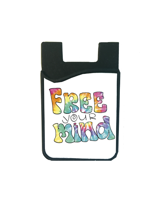 """Free Your Mind"" Card Caddy"