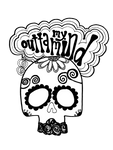 """Outta My Mind"" Skull"