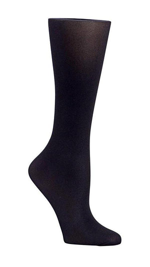 Black Solid 8-15 mm/Hg Graduated Compression Socks - XEJRA