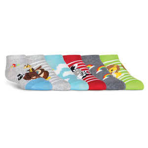 Kid's  Noah's Ark No Show Socks - XEJRA