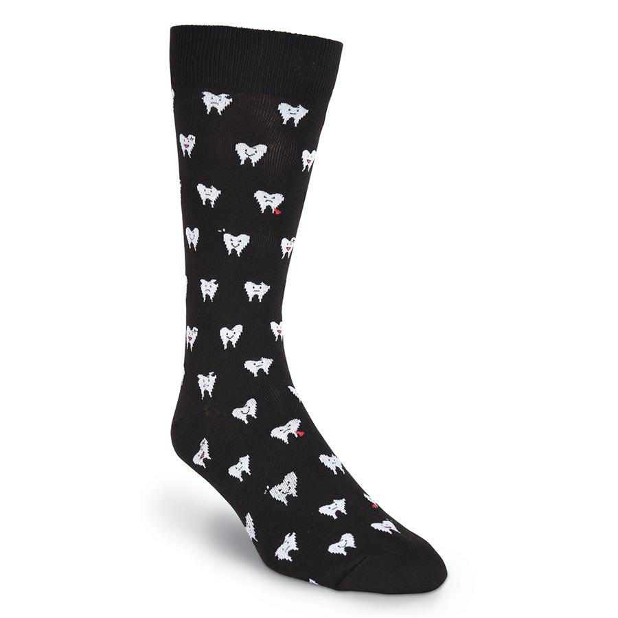 Men's Teeth Crew Socks - XEJRA