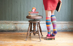Carnation Adult Knee Sock - XEJRA
