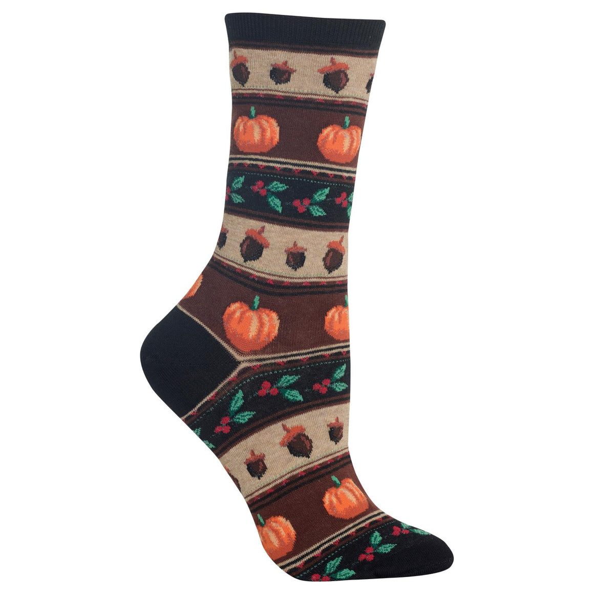 Women's Thanksgiving Fairisle Crew Socks - XEJRA