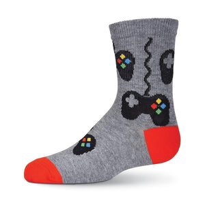 Boy's Controls Crew Socks - XEJRA