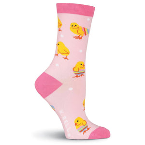 Easter Chicks Crew Socks - XEJRA
