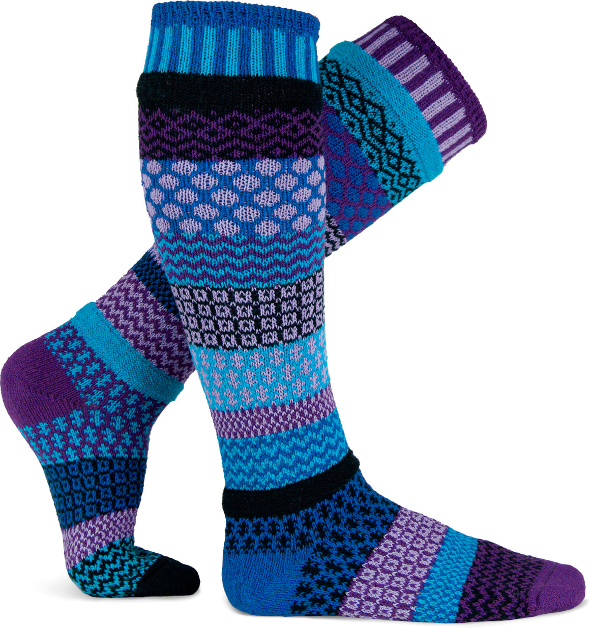 Raspberry Adult Knee Sock - XEJRA