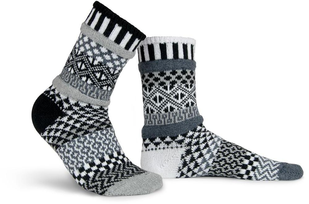 Midnight Adult Crew Socks - XEJRA